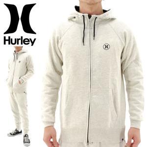 「セール」Hurley ジップアップパーカー ハーレー 白オフホワイト streetbros