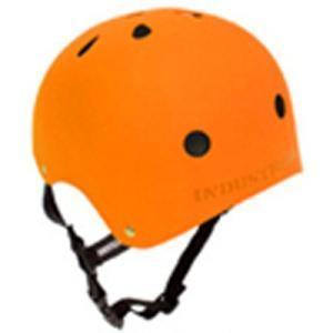INDUSTRIAL(インダストリアル) ヘルメット 橙(オレンジ)「子供〜大人サイズ」スケボー スノボー BMX インライン 自転車 プロテクター|streetbros