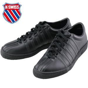 ケースイス レザーシューズ レザースニーカー クラシック66 ブラック K・SWISS CLASSIC66 JPN|streetbros