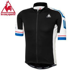 ルコック サイクリングウェア メンズ半袖 トップス ストレッチ 自転車 Lecoq QCMLGA41 サイクリング|streetbros