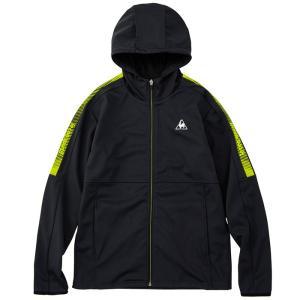 LECOQ ボンディングジャケット QMMQJK01 ゴルフ 長袖 メンズ  スポーツウェア ブラック|streetbros