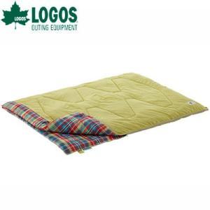 ロゴス 寝袋 LOGOS 72600740 オシャレ寝袋 車中泊 寝袋 ミニバンぴったり丸洗い寝袋チェッカー・2