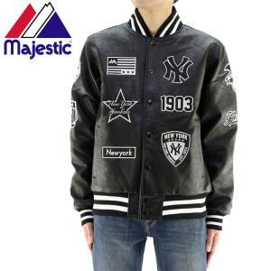 MAJESTIC ジャケット マジェスティック スタジャン ヤンキース MM23NY8F12|streetbros