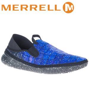 メレル メンズシューズ ハット モック スリッポン MERRELL M003711 J00371 ブルー系|streetbros