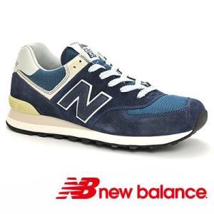 ML574VN ネイビー ニューバランス ワイズD セレブ 大人気 15年春夏モデル 靴幅D シーズナルカラー 即納 通販