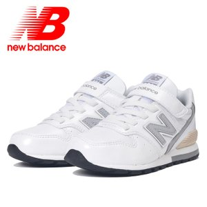 ニューバランス 子供用スニーカー キッズシューズ ベルクロ NEWBALANCE YV996 ホワイト 白色|streetbros