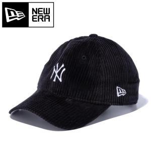 ニューエラ キャップ 帽子 ニューヨーク ヤンキース コーデュロイ ブラック NEWERA 12854076|streetbros