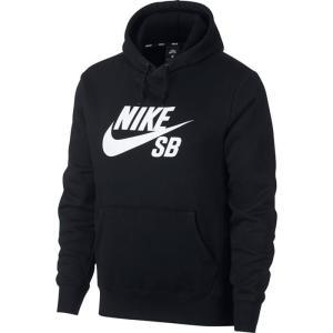 ナイキSB トレーナー パーカー アイコン ビッグロゴ 起毛 ナイキエスビー 黒 ブラック NIKE SB AJ9734|streetbros