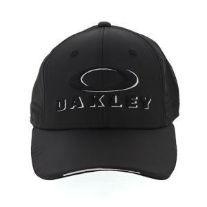オークリー ゴルフ キャップ 帽子 吸汗速乾 アジャスター付き ブラック 抗菌防臭 OAKLEY FOS900795|streetbros
