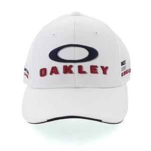 オークリー GOLF キャップ ゴルフ ロゴ刺しゅう CAP 吸汗速乾 帽子 ホワイト OAKLEY FOS900795|streetbros