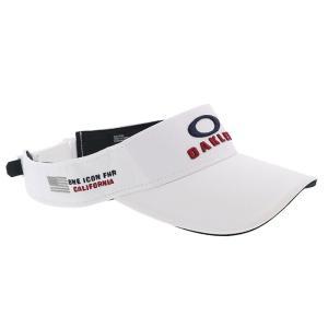 オークリー サンバイザー GOLF キャップ ゴルフ 帽子 ロゴ刺しゅう 吸汗速乾 OAKLEY FOS900796 100|streetbros