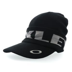 オークリー ゴルフ ビーニー キャップ ニットキャップ ブラック CAP メンズ OAKLEY FOS900799 02E|streetbros