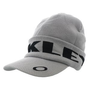 オークリー ビーニー キャップ ゴルフ 帽子 CAP ニットキャップ ホワイト GOLF OAKLEY FOS900799 22P|streetbros