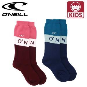 オニール 子供用 スノーボードソックス キッズ 厚手 ソックス 靴下 2P 防寒ソックス ONEILL 648990|streetbros