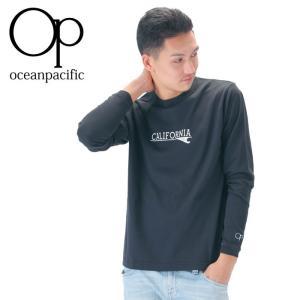 OP 538071 Tシャツ メンズ ロンT シンプル サーフブランド オーシャンパシフィック 長袖Tシャツ|streetbros