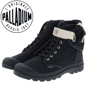 パラディウム スニーカー シューズ パンパ ハイカット ブラック PALLADIUM 76009|streetbros
