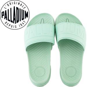 パラディウム サンダル スリッパ 緑色 PAMPA SOLEA SL 95759 313 シャワーサンダル PALLADIUM パステル色|streetbros