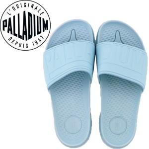パラディウム シャワーサンダル スリッパ ブルー 95759 422 PALLADIUM サンダル 水色 パステル色|streetbros