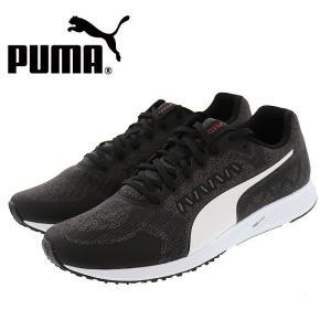 プーマ スピードライト2 ランニングシューズ メンズ スニーカー PUMA SPEEDLITE2 ブラック 黒色|streetbros