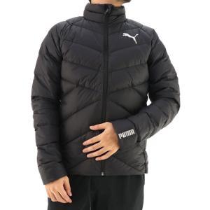 プーマ ゴルフウェア ダウンジャケット メンズ ブルゾン ゴルフ 軽量 アウター PUMA 585310 ブラック|streetbros