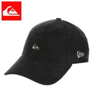クイックシルバー キャップ コーデュロイ CAP ニューエラ ブラック 帽子 QUIKSILVER AQYHA04688|streetbros
