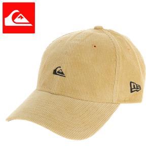 クイックシルバー 帽子 CAP キャップ コーデュロイ ニューエラ ベージュ QUIKSILVER AQYHA04688|streetbros