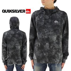 メンズパーカー クイックシルバー フード付き QUIKSILVER 撥水 軽量 ブラック スウェット 通販 販売 即納 人気|streetbros