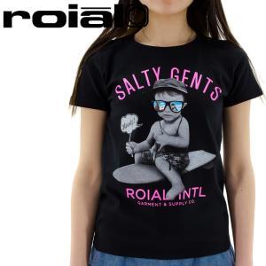 「セール」レディス プリントTシャツ 半袖 ROIAL カットソー ロイヤル 半袖Tシャツ GTS247|streetbros