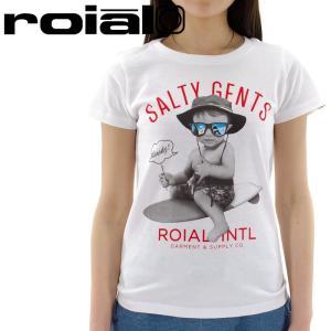 「セール」ROIAL カットソー ロイヤル 半袖Tシャツ GTS247 レディス プリントTシャツ 半袖|streetbros