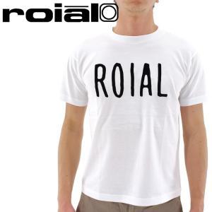 「セール」ロイアル クルーネックTシャツ ROIAL ロゴTシャツ TS516 半袖 Tシャツ メンズ streetbros