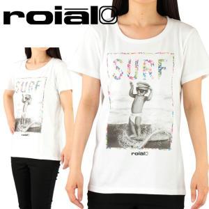 ロイアル 半袖Tシャツ レディースカットソー ROIAL ティーシャツ 綿100% S-L GTS370 赤ちゃんグラフィック|streetbros