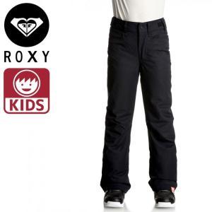10K 耐水性 ロキシー スノーパンツ 無地 撥水 スキーウェア ボトムス スノボ ROXY ズボン KVJ0 黒 ブラック|streetbros