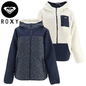 ロキシー レディース リバーシブル ブルゾン ボア ジャケット ホワイト ジップアップ ROXY RJK214031|streetbros