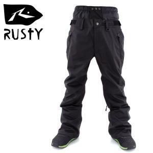 スノボ ウェア スノーボード パンツ メンズ レディース RUSTY 985700 男女兼用 ボトム 無地 シンプル streetbros
