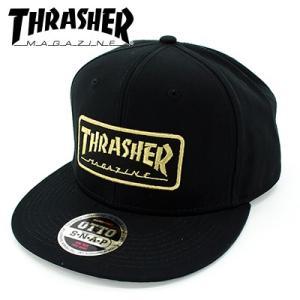 THRASHER メンズCAP 人気スラッシャー 帽子 HAT 定番 ロゴ スナップバック シンプル キャップ トレンド streetbros