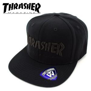 CAP スナップバック キャップ スラッシャー THRASHER 帽子 スケート SK8 ストリートブランド 15TH-C50 streetbros