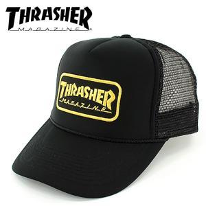 THRASHER 帽子 スケート ストリート 15TH-C69 スラッシャー スナップバックキャップ メッシュキャップ streetbros
