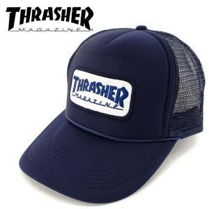 帽子 スケート ストリート 15TH-C69 スラッシャー スナップバックキャップ メッシュキャップ THRASHER streetbros
