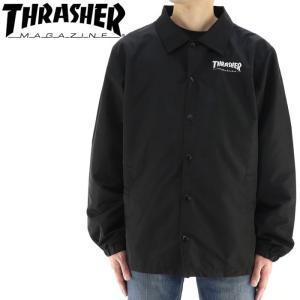 スラッシャー コーチジャケット メンズ ジャケット バックプリント THRASHER TH5150 streetbros