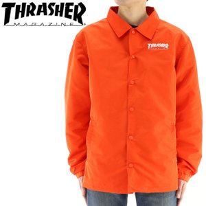 THRASHER TH5150 コーチジャケット スラッシャー メンズジャケット バックプリント 通販 販売 即納 streetbros