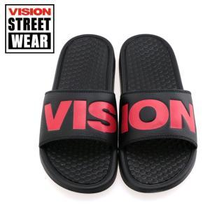 VISION サンダル ヴィジョンストリートウエア シャワーサンダル ズーマ VISION ZUMA VSW-8114 WHITE 軽量 人気モデル 即納|streetbros