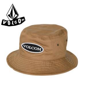 VOLCOM(ボルコム) HAT バケットハット 帽子 カーキ 「D55117JF/KHA」Old Patch Bucket Hat ベージュ KHAKI|streetbros
