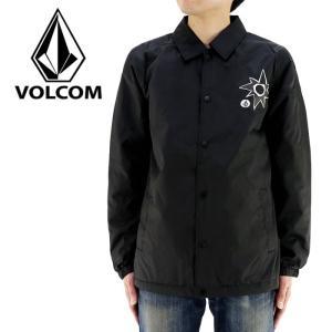アウター ボルコム VOLCOM メンズジャケット 黒 ブラック 裏ボア カジュアル コーチジャケット|streetbros