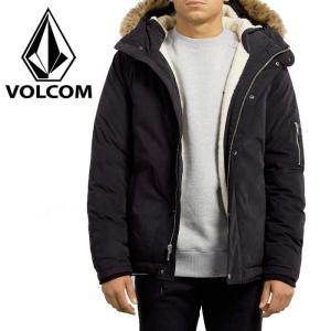 ボルコム メンズジャケット ファー付き フードジャケット 耐水 防水ジャケット VOLCOM A1731707|streetbros