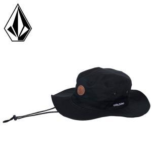 ボルコム サファリハット HAT アドベンチャーハット 帽子 黒 ブラック D55119JA|streetbros