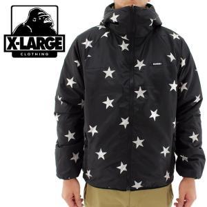 「セール」ジャケット アウター エクストララージ ブルゾン 中綿ジャケット X-LARGE メンズジャケット 01153510 販売 通販 即納 人気 リバーシブル 星柄 2015 streetbros