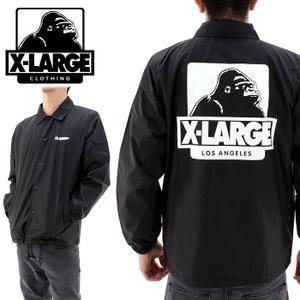 X-LARGE OGゴリラ コーチジャケット エクストララージ 01163519 ブラック 黒 販売 通販 即納 人気