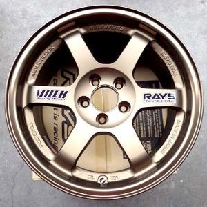 LANCIA DELTA EVO専用 RAYS TE37  7.5J-15 PCD98 5H ブロンズ 4本セット|streetlife