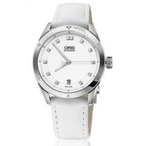 Oris/オリス レディース 腕時計 Artix GT 日付 Diamonds White Dial...