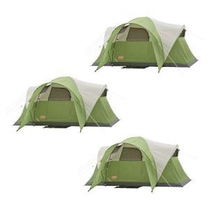 ・6人用の広々としたテントの中には、クイーンサイズのエアベッド2台分のスペースがあります。 ・特許取...